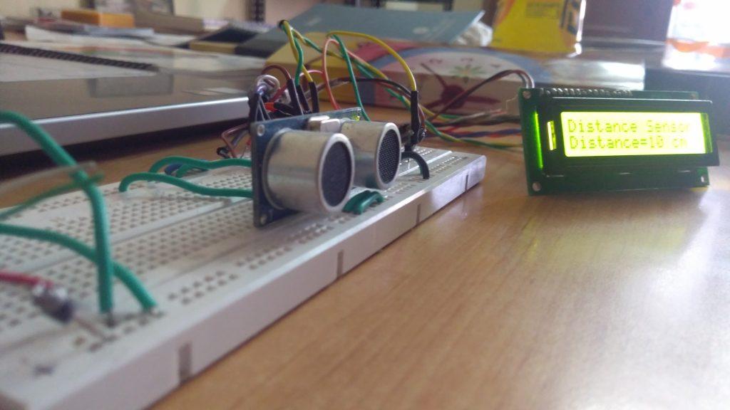 Interfacing HC-SR04 Ultrasonic Distance Sensor with ATmega32
