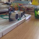 Interfacing HC-SR04 Ultrasonic Distance Sensor with ATmega32 Microcontroller