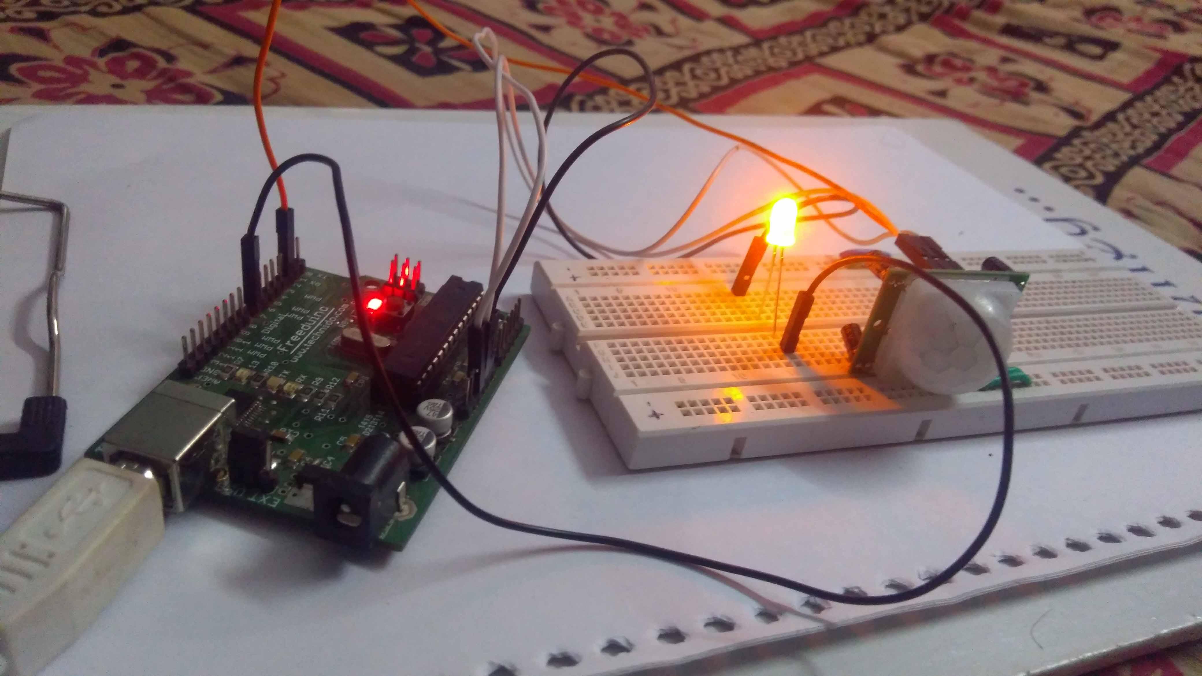 Interfacing PIR Motion Sensor with Arduino - Tutorial