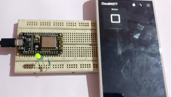 ESP8266 as MQTT Client - Arduino IoT - Control LED from Mobile App