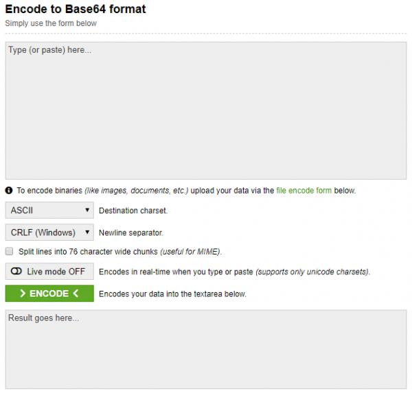 Sending Email from ESP8266 - www.base64encode.org